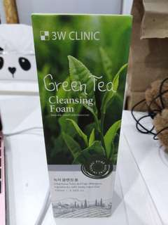 BRAND NEW Korean Green Tea Cleansing Foam