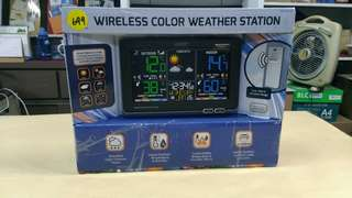 🚚 天生拍賣_La Cross 無線彩色電子氣象偵測計