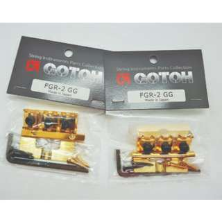 FRG-2 Gotoh Tremolo Locking Nut - Gold