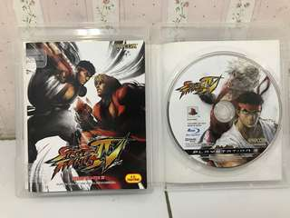 Blueray Disc / Kaset Game PS3 Street Fighter IV