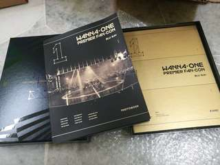 WANNA ONE FANCON BLU RAY 2 DISC + PHOTOBOOK