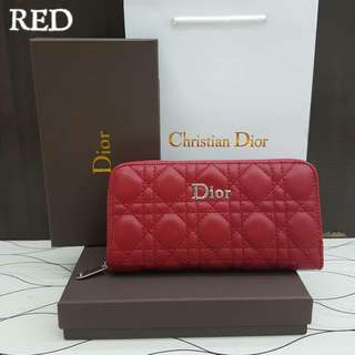 Lady Dior Red Purse