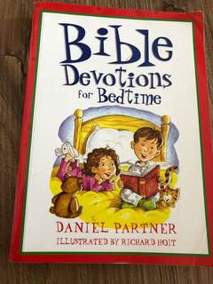 Children's bedtime bible story