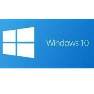 [正版線上啟用]Windows10全版本現貨供應 專業版、家用版、企業版、教育版