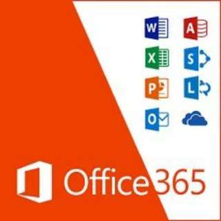 [正版永久使用]office365含(1TB onedrive雲端硬碟/Word、Excel、PowerPoint.等)