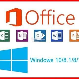 [正版永久使用]office2010、2013、2016、365 辦公、文書、學術、企業行銷通吃