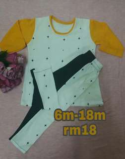 Baju Baby Sepasang Knitt Cotton