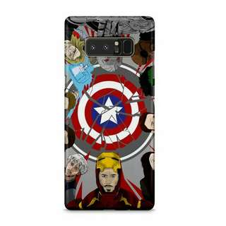 Captain Age Of Ultron Samsung Galaxy Note 8 Custom Hard Case