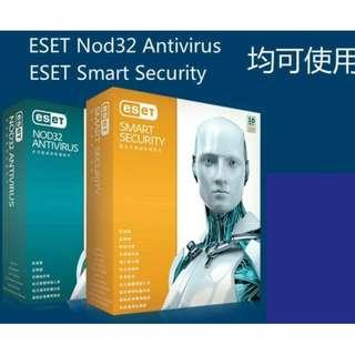 新版NOD32 ESET Smart Security 二年(下單前詢問期限)