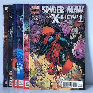 Spider-Man and the X-Men #1—6