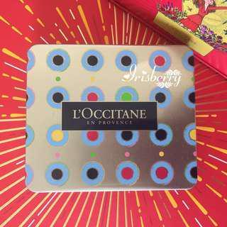 NEW L'occitane Special Edition Matel Case   Tin #1 Loccitane