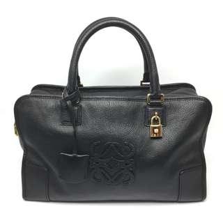 Loewe 黑色手挽袋 Black Boston Bag