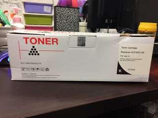 1154. (CF400X) Toner Cartridge Replacement of HCF400X BK