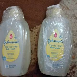 Johnson & Johnson Sabun Top to Toe wash