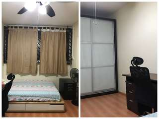 Common room for rent near Simei MRT at Blk 222 Simei St4