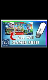 Selling Wii Mod Software & Games
