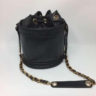 [罕有]Chanel Vintage Bucket 水筒袋 Lambskin 羊皮