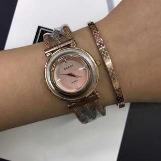 Gucci watch fashionable