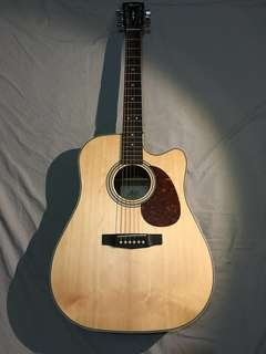 Cort MR500E Open Pore Acoustic Guitar