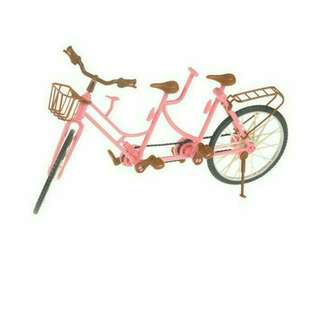 Barbie bike 3 seater