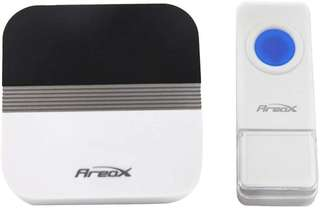 393.Areox Plug in Push Button Door Chimes Remote Wireless Doorbell