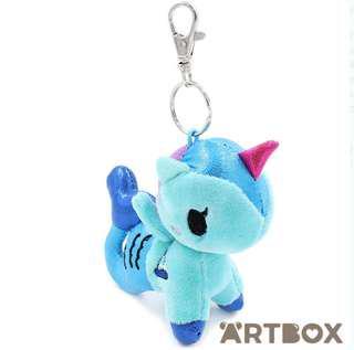 🚚 Tokidoki blue mermaid plush key chain
