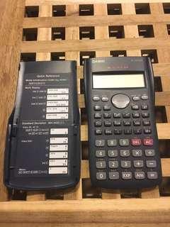 🚚 CASIO FX350ms卡西歐工程用計算機