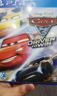 Cars 3 : Driven To Win - PS4 2nd Hand Game
