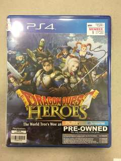 Playstation 4 Dragon Quest Heroes (Used)