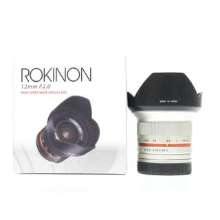 Rokinon 12mm F2 FOR SONY E-Mount (Silver)