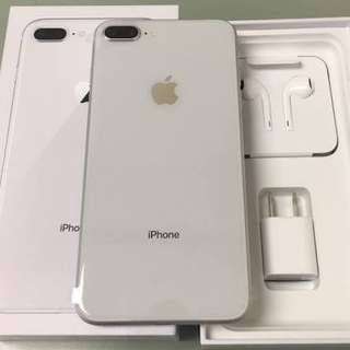 Apple iPhone 8 Plus 64GB Silver Garansi Internasional