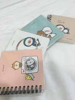 Adorable Minano Notebooks