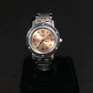 Hermes 手錶 Hermes Watch Clipper 100%真品