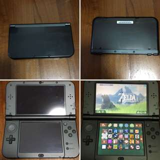 Modded 'New Nintendo 3ds xl' black
