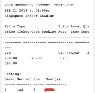 Seventeen Ideal Cut Concert