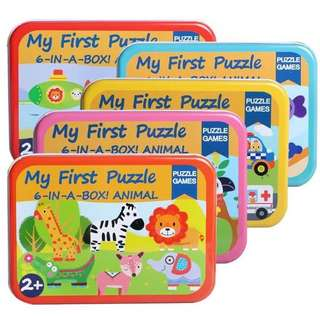 Baby 1st learning puzzle (5 design/box)