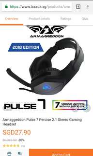 Armaggeddon Pulse 7 Percise 2.1 Stereo Gaming Headset