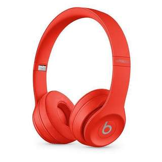 Beats Solo 3 Wireless On-Ear Headphones - Product(Red)