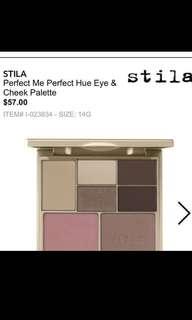 Stila perfect me perfect hue eye and cheek palette