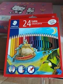 Colour Pencils-Luna brand
