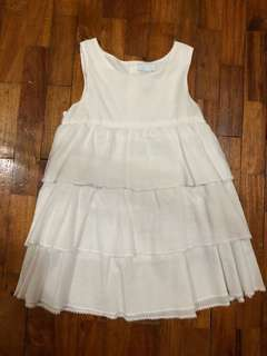 Imported Baby White Dress