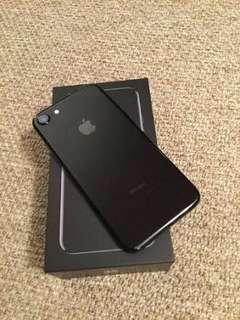Apple iPhone 7 128GB Jet Black Garansi Internasional