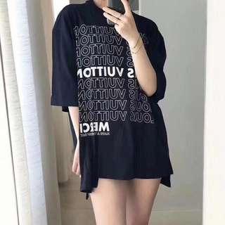 LV tee in blk or white