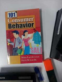 101 Consumer Behavior
