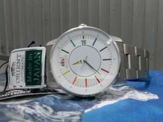 ORIENT Watch ~ 東方錶~Made In Japan ~ 機械自動, 不需電池,  NOS new old stock 全新,有盒,有說明書,有吊牌