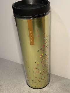 Starbucks confetti bottle