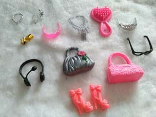 1 doz Assorted accessories 3 sets avail