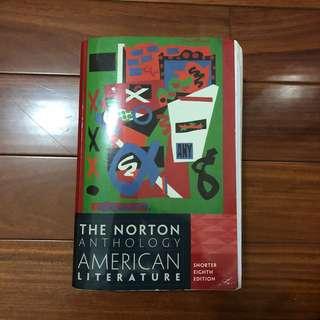 🚚 美國文學概論 American Literature