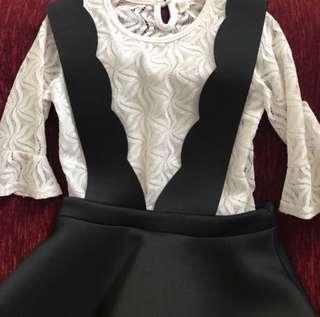 Korean Style Peplum Dress
