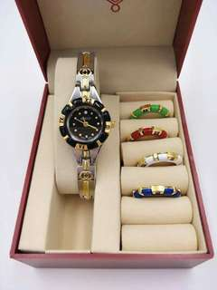 5 in 1 GUCCI WATCH